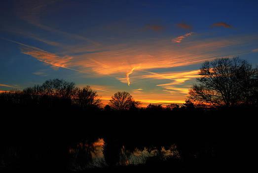 Sunset by Maneesh Chandran