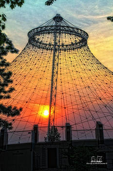 Sunset mask by Dan Quam