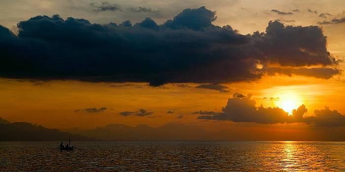 Sunset of Bali by Istvan Nagy