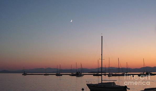 Sunset on Lake Champlain by Donna Cavender