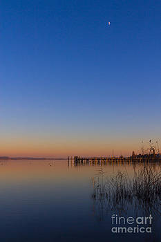 Sunset on Lake Constance II by Bernd Laeschke