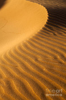 Fototrav Print - Sunset on sand dunes in Dubai
