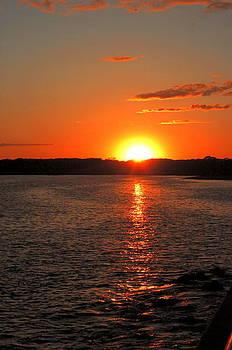 Sunset on the Inlet by Joe Varneke