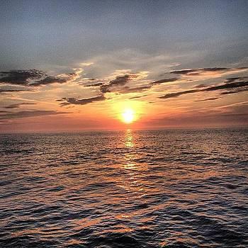 #sunset On The #ocean #water by Megan Rudman