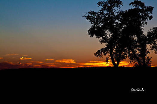 Sunset on the Sourland Mountains by IB Ehrlich