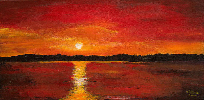 Sunset on the Water by Julia Robinson