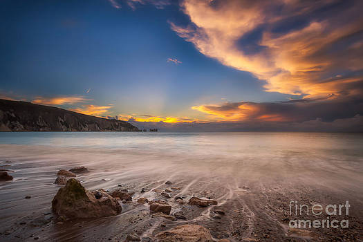 English Landscapes - Sunset Over Alum Bay #2