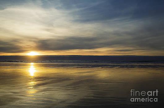 Charmian Vistaunet - Sunset over Cannon Beach