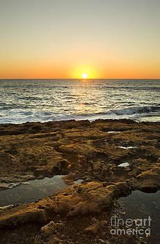 Charmian Vistaunet - Sunset over Hawaii Ocean Horizon