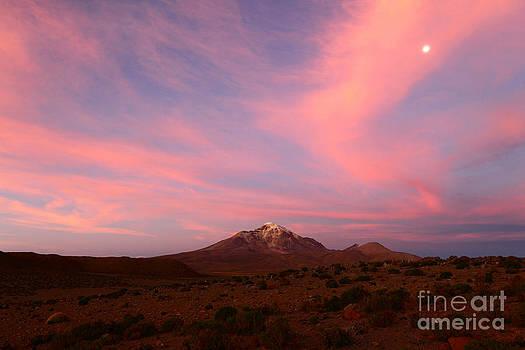 James Brunker - Sunset over Isluga National Park
