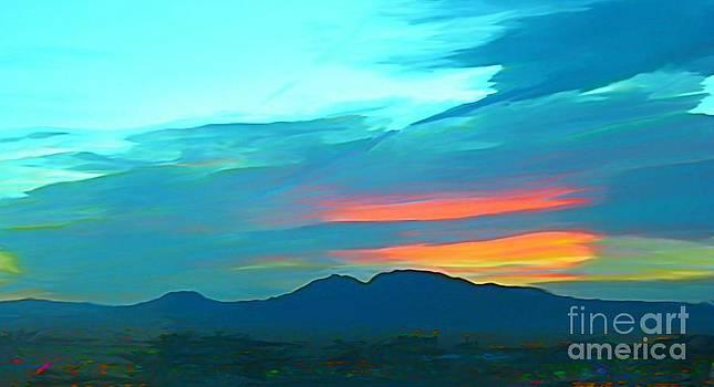 John Malone - Sunset Over Las Vegas Hills
