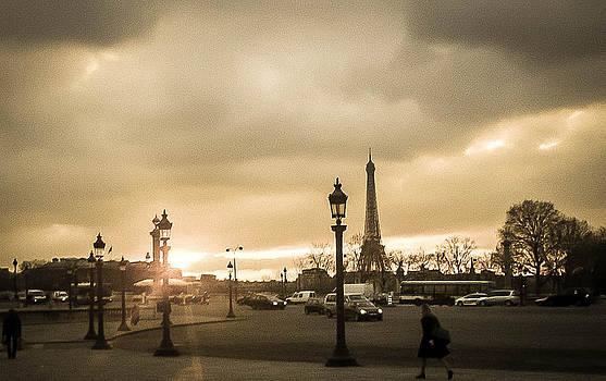 Steven  Taylor - Sunset Over Paris