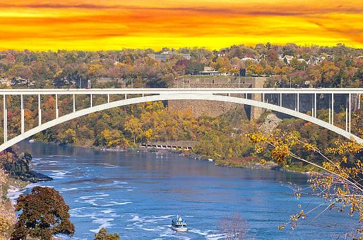 Randall Branham - Sunset over Rainbow Bridge