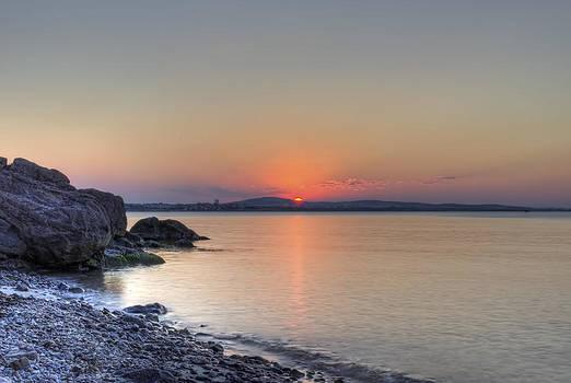 Sunset over the sea by Mariana Atanasova