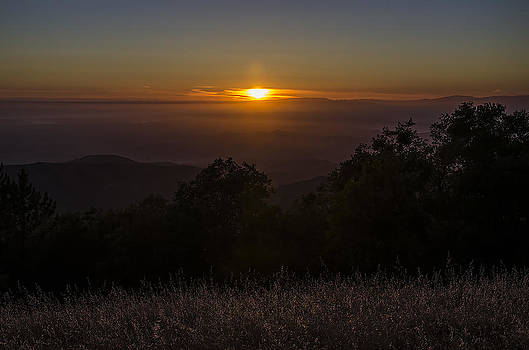 Sunset Over The Valley by Joie Cameron-Brown