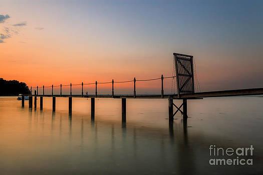 English Landscapes - Sunset Pier