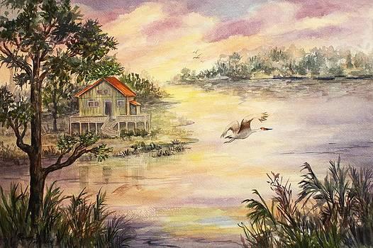 Sunset Retreat by Roxanne Tobaison