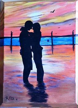 Sunset Romance by Rich Fotia