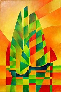 Tracey Harrington-Simpson - Sunset Sails and Shadows