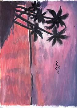 Sunset Sea by Aparna Suriaraj