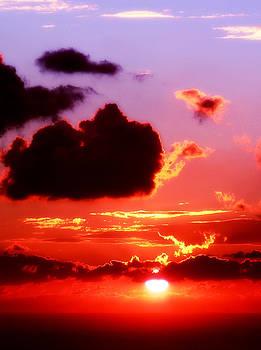 Sunset sea by Russ Murry