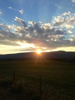 Sunset Shenandoah Valley by Angela McKinney
