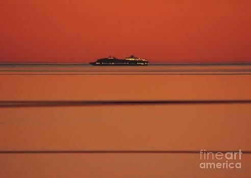 Sunset Ship by Linda Hollis