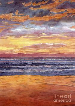 Sunset Sings Ocean Dreams by Jennifer Turnbull