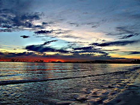Sunset Sky 2 by Raymond Mendez