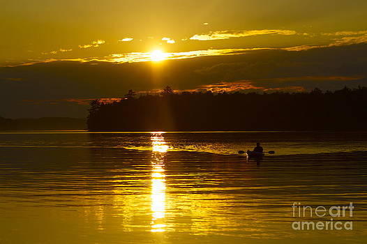 Sunset Solitude II by Alice Mainville