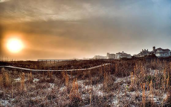 Sunset Through the Fog by Andrew Crispi