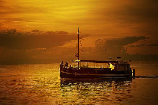 Sunset Traveler by Vjekoslav Antic