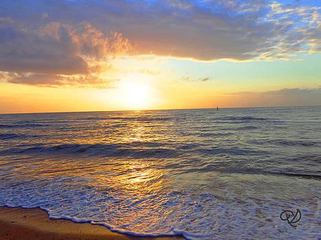 Sunset by Ute Posegga-Rudel