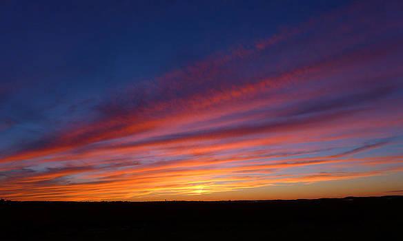 Sunset Vista on the Horizon by Joseph Desmond