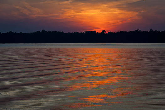 Sunset Wake by Eleanor Ivins