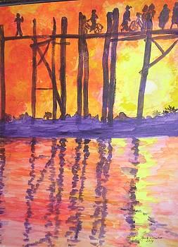 Sunset Walk by Jack Donahue