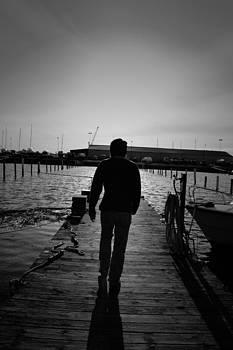 Sunset Walk by Nicholas Kjellner