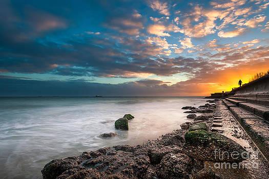 English Landscapes - Sunset Walking
