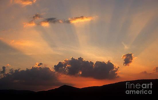 BERNARD JAUBERT - Sunset with clouds