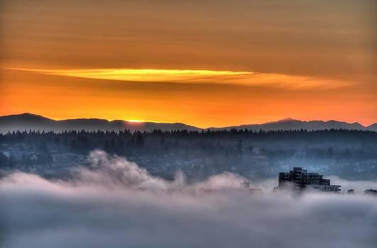 Sunset's Kiss by Doug Farmer