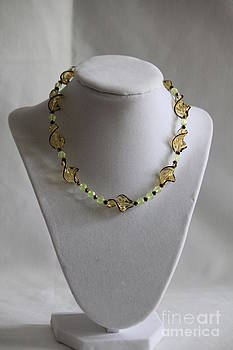 SunShine Makes Me Happy Necklace by Amy Gallagher