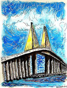 Sunshire Skyway Bridge by Douglas Durand