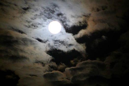 Supermoon Shines by Kay Mathews
