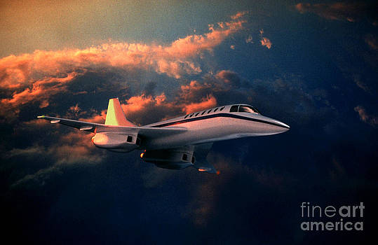 Jerry McElroy - Supersonic Jet