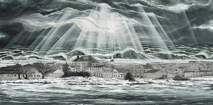 Superstorm Sandy Sea Bright Nj by Ronnie Jackson