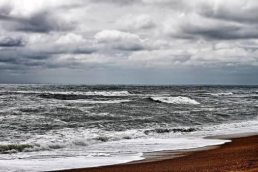 Surf Sand and Sky by Carolyn Ricks