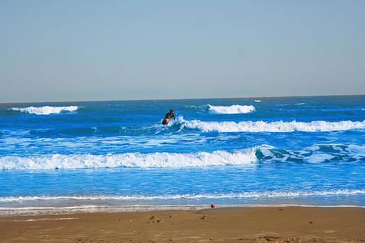 Surfer by Aaron Balderas