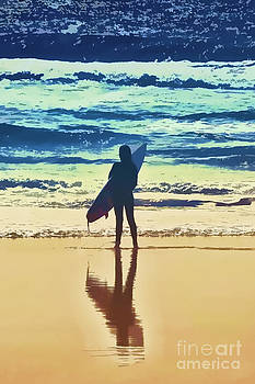 Surfer Girl by Andrea Auletta