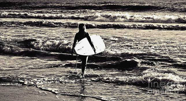 Surfer Girl by Scott Allison