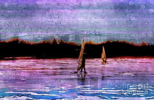 Wind Surfing Delight by Deena Athans